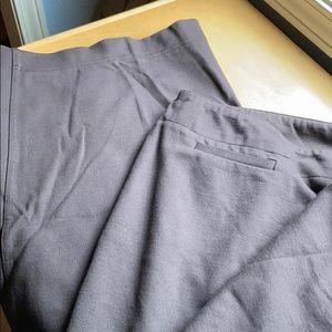 Eileen Fisher Brown Knit Dress Pants